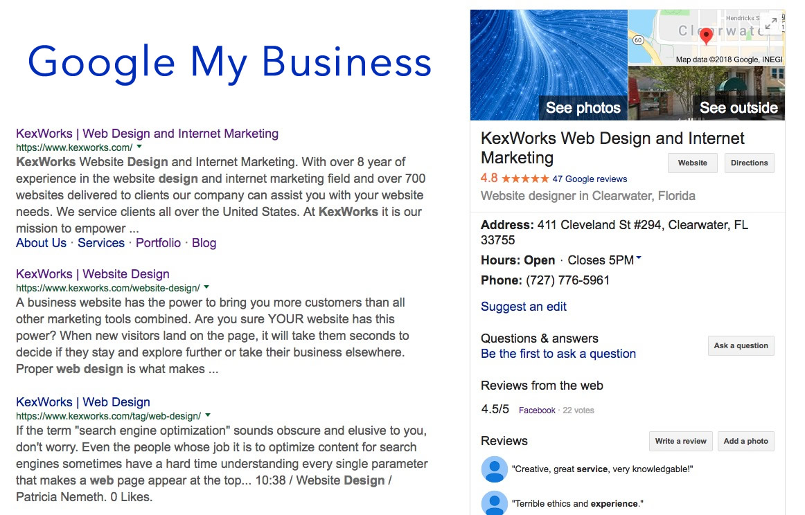 KexWorks | A Quick Guide to Google My Business